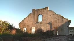 HD2009-11-1-13 Alcatraz ruins Stock Video Footage