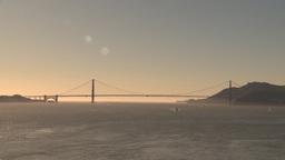 HD2009-11-1-27 Golden gate bridge Stock Video Footage
