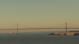 HD2009-11-1-35 San fran cityscape pan reveal Footage