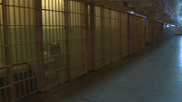 HD2009-11-1-41 Alcatraz prison cells Stock Video Footage