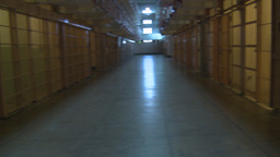 HD2009-11-1-41 Alcatraz prison cells Stock Video Footage