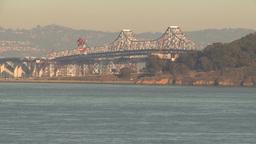 HD2009-11-2-8 bay bridge Stock Video Footage