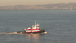 HD2009-11-2-10 tugboat Stock Video Footage