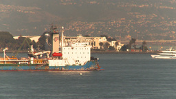 HD2009-11-2-16 high speed ferry Stock Video Footage
