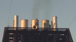 HD2009-11-2-22 smoke stacks Footage
