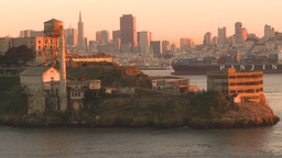 HD2009-11-2-26 Alcatraz island Stock Video Footage