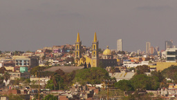 HD2009-11-3-8 Mazatlan city and church Footage