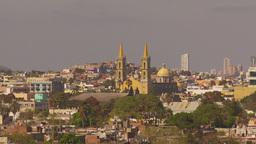 HD2009-11-3-8 Mazatlan city and church Stock Video Footage