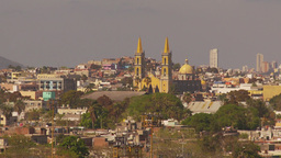 HD2009-11-3-8 Mazatlan city and church Stock Video Footage