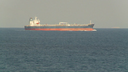 HD2009-11-5-1 Cargo ship at sea Stock Video Footage