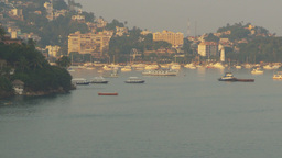 HD2009-11-5-19 Aculpoco harbor pan Stock Video Footage