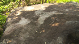 HD2009-11-5-24 petroglyphs x3 Stock Video Footage