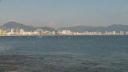 HD2009-11-5-37 Aculpoco skyline and beach Stock Video Footage