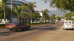 HD2009-11-5-39 Aculpoco traffic VW bugs Stock Video Footage
