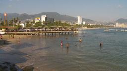 HD2009-11-7-2 Aculpoco beach and ocean Stock Video Footage