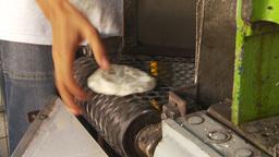 HD2009-11-7-16 making tortillas Stock Video Footage