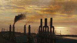 HD2009-11-8-13 industry, power gen stacks smoke Footage
