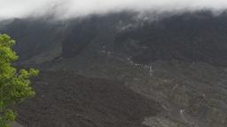 HD2009-11-8-23 guatemala people hiking volcano trail Footage