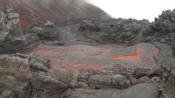 HD2009-11-8-25 guatemala lava Stock Video Footage