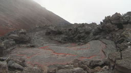 HD2009-11-8-29 guatemala lava Stock Video Footage