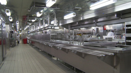 HD2009-11-9-3 stainless steel kitchen #1 Stock Video Footage