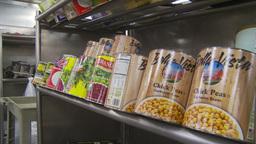 HD2009-11-9-7 food prep #1 Stock Video Footage