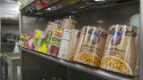 HD2009-11-9-7 Food Prep #1 stock footage