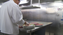 HD2009-11-9-7 food prep #1 Stock Video Footage