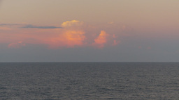 HD2009-11-9-23 distant thunderstorm at sunset Stock Video Footage