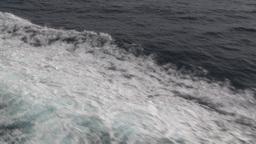 HD2009-11-10-4 ships wake Stock Video Footage