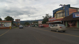 HD2009-11-11-14 Costa rican town Stock Video Footage