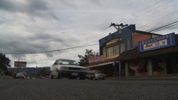 HD2009-11-11-16 traffic Costa rican town Stock Video Footage