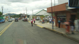 HD2009-11-11-28 driving through CR town Stock Video Footage