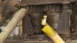 HD2009-11-12-30 sugar cane press Footage