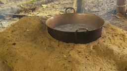 HD2009-11-12-34 sugar cane still fire and liquid Stock Video Footage