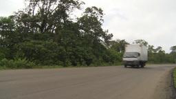 HD2009-11-12-50 Ecuador highway Stock Video Footage