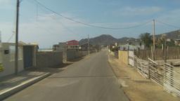 HD2009-11-13-2 drive through small town Ecuador Stock Video Footage