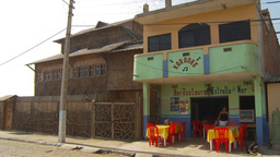HD2009-11-13-4 bar rest small village Ecuador Stock Video Footage