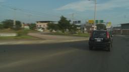 HD2009-11-13-26 TL drive through Manta Stock Video Footage