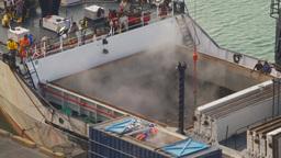 HD2009-11-14-2 tuna boat refirg Stock Video Footage