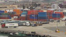 HD2009-11-14-22 containor port Peru Z Footage