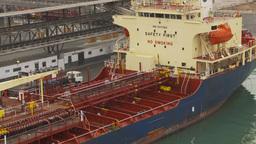 HD2009-11-14-28 cargo ship Stock Video Footage