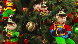HD2009-11-15-17 Xmas tree Stock Video Footage