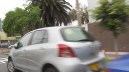 HD2009-11-15-31 drive through Lima Stock Video Footage