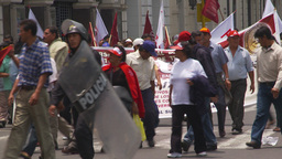 HD2009-11-15-39 protest march Stock Video Footage