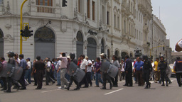 HD2009-11-15-41 protest march Stock Video Footage