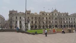 HD2009-11-15-43 Plaza San Martin Lima Stock Video Footage