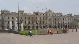 HD2009-11-15-43 Plaza San Martin Lima Footage