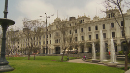 HD2009-11-15-45 Plaza San Martin Lima Stock Video Footage