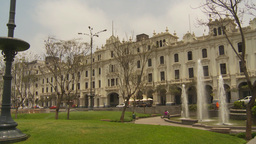 HD2009-11-15-45 Plaza San Martin Lima Stock Video Footage